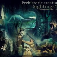 مشاهدات لمخلوقات عصور ما قبل التاريخ